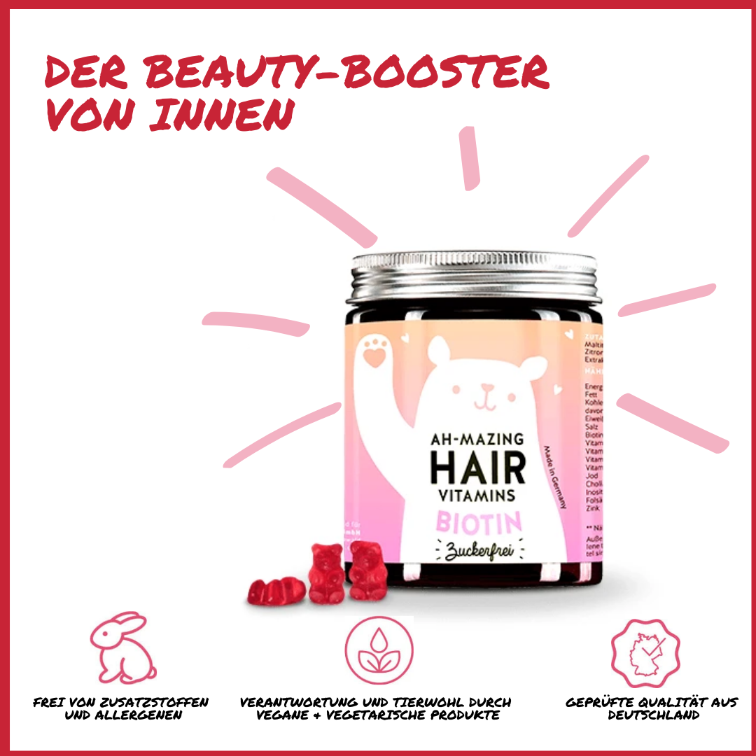 Hair Vitamins Biotin Gummibärchen_Estilo Hairlounge_Nina Kranjcec_Heilbronn