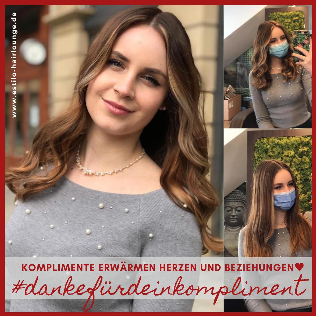 Kundenbewertung Kompliment_Danke an Kundin_Estilo Hairlounge_Nina Krancjec_Heilbronn